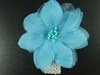 Delicate Flower Corsage in Blue