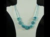 Shell Necklace in Blue