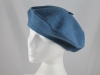 Betmar New York Wool Beret in Blue