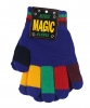 Magic Multi Coloured Gloves in Blue
