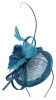Molly and Rose Occasion Pillbox Fascinator in Blue