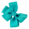 Molly and Rose Small Hair Bow in Blue
