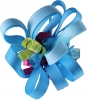 Ribbon Loops Hair Accessory in Blue