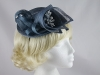 Blue Sinamay Headpiece
