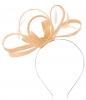 Failsworth Millinery Satin Loops Aliceband Fascinator in Blush