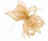 Failsworth Millinery Sinamay Diamante Clip Fascinator in Blush