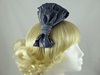 Bow Fascinator in Blue