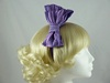 Bow Fascinator in Purple
