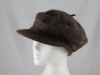 Angora Fashion Cap in Brown
