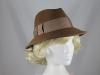Betmar New York Winter Hat in Brown