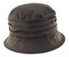 Failsworth Millinery Wax Hat in Brown