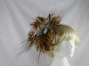 Brown Feather Headpiece