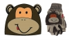 Jiglz Fleece Animal Ski Hat and Gloves in Brown