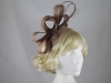 Molly and Rose Loops and Quills Headpiece in Mocha