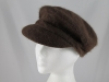 Whiteley Angora Cap in Brown