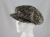 Whiteley Wool Fashion Cap in Brown