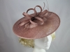 Failsworth Millinery Sinamay Disc in Burlwood