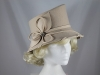 Failsworth Millinery Wool Fashion Hat in Camel