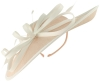 Failsworth Millinery Events Disc Headpiece in Cameo & Ivory
