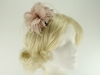 Failsworth Millinery Feather Fascinator in Cameo