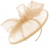 Failsworth Millinery Sinamay Disc in Cameo