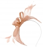 Failsworth Millinery Sinamay Fascinator in Cameo