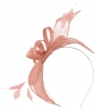 Failsworth Millinery Sinamay Fascinator in Candy