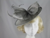 Failsworth Millinery Disc in Carbon-Silver