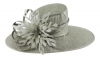 Failsworth Millinery Ascot Hat in Carbon-Silver