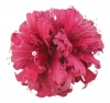 Failsworth Millinery Feather and Diamante Fascinator in Cerise