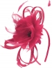 Failsworth Millinery Flower Fascinator in Cerise