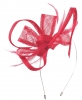 Max and Ellie Flower Fascinator in Cerise