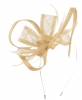 Max and Ellie Flower Fascinator in Chalk