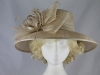 Hawkins Collection Bow and Loop Wedding Hat