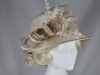 Hawkins Collection Nested Loops Occasion Hat in Champagne