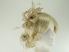 Hawkins Collection Sinamay Fascinator in Champagne