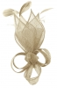 Max and Ellie Lily Comb Fascinator in Champagne