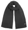 Alice Hannah Knitted Scarf in Charcoal