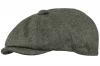 Boardman Rob Wool Bakerboy Cap in Charcoal