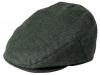Failsworth Millinery Irish Linen Cap in Charcoal
