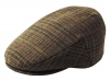 Failsworth Millinery Cambridge Flat Cap in Checked 204