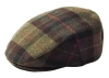 Failsworth Millinery Cambridge Flat Cap in Checked 207