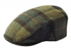 Failsworth Millinery Cambridge Flat Cap in Checked 208