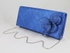 Elegance Collection Sinamay Occasion Bag in Cobalt