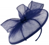 Failsworth Millinery Sinamay Disc in Cobalt