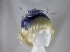 Failsworth Millinery Sinamay Fascinator in Cobalt