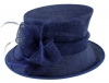 Failsworth Millinery Wedding Hat in Cobalt