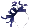 Failsworth Millinery Wide Loops Fascinator in Cobalt