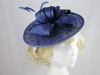 Hawkins Collection Bow Disc Headpiece in Cobalt