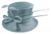 Failsworth Millinery Bow Wedding Hat in Cornflower